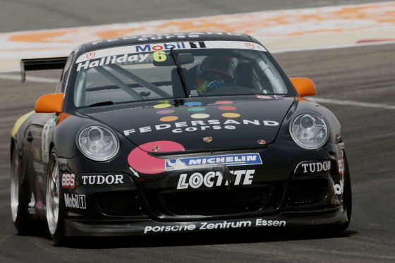 Matt Halliday, Porsche-Mobil1-Supercup 2009