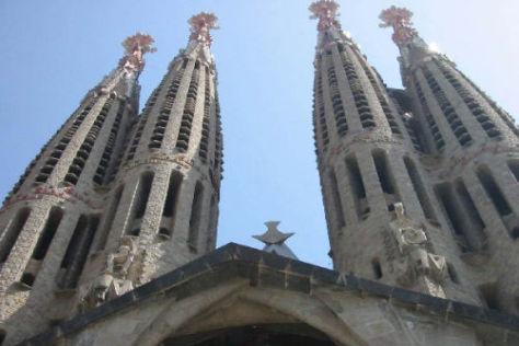 Das Stadtbild von Barcelona ist geprägt durch zahlreiche Gaudi-Bauwerke