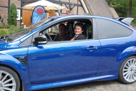 Ford Focus RS mit Chefentwickler John Wheeler
