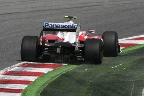 Timo Glock war um einen Tick schneller als Teamkollege Jarno Trulli