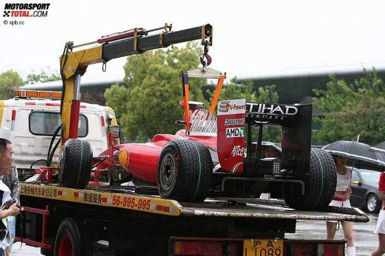 Formel 1, GP von China 2009, Massa Ferrari F60