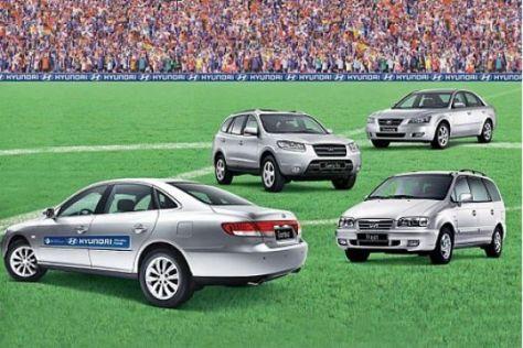 Hyundai profitiert von WM
