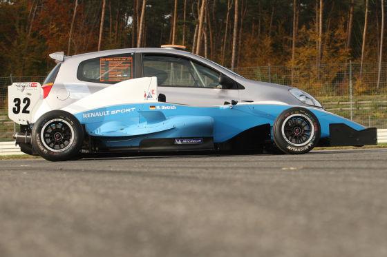 Tracktest Renault Clio und Formel Renault