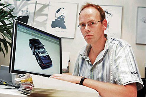 Peter Wielick aus Lüttich (Belgien) verzweifelte fast an seinem Mercedes CLK Cabrio.