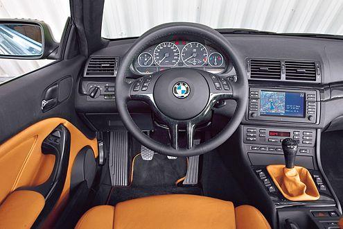 Erinnerung an frühere BMW-Zeiten: klassisches Cockpit ohne iDrive.