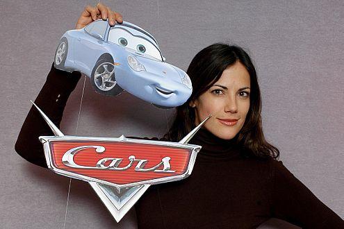 Flotter Porsche: Die Schauspielerin Bettina Zimmermann leiht Sally ihre Stimme.