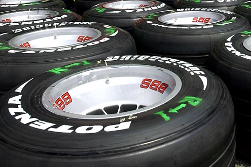 Probleme über Probleme: Wer am Hockenheimring auf Bridgestone-Reifen unterwegs war, hatte das Nachsehen.