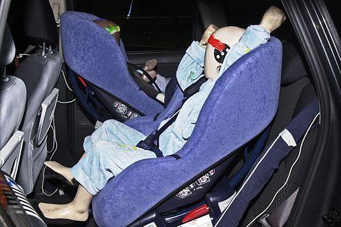Crash-Test-Patzer: Beim Nissan Note brach die Halterung der Isofix-Kindersitzbefestigung. Folge: Rückruf.