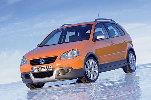 Vorbild und Namensgeber aus Wolfsburg: der VW Cross Polo.