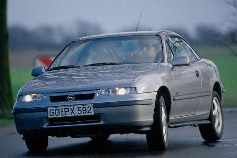 Test Opel Calibra Turbo 4x4 Ein Opel F 252 R Die Linke Spur