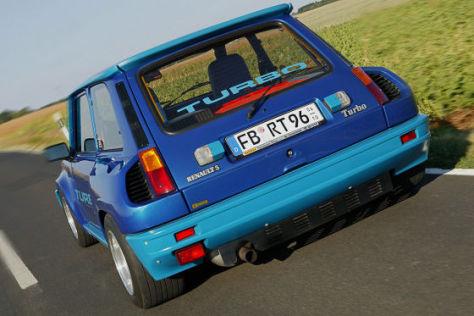 test renault 5 turbo: kleiner freund für wilde kerle - autobild.de