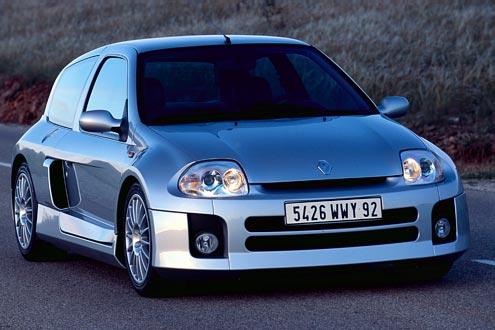 Renault Clio Sport V6: Die 250 PS sollten mit Vorsicht gefahren werden.