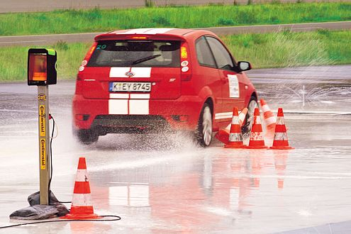 Alle Finalisten bewiesen, dass sie fantastisch Auto fahren können.