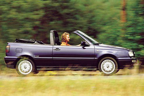 VW Golf III Cabrio: der solide Klassiker unter den Bügelcabrios.