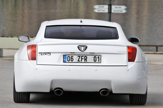 Etox Zafer türkischer Sportwagen