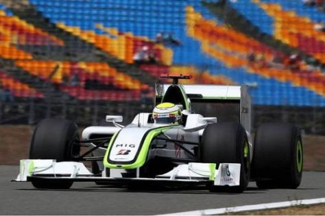 Jenson Button macht sich keine Sorgen und hofft auf Verbesserungen