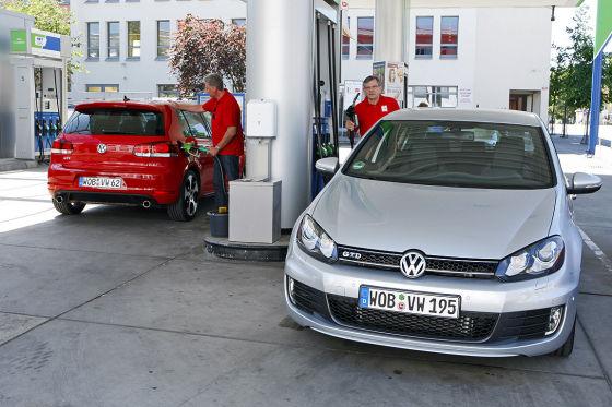 VW Golf VI GTD, VW Golf VI GTI