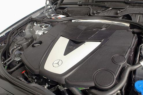 Sahnestück: Die Fahrleistungen des Mercedes-Diesel begeistern.