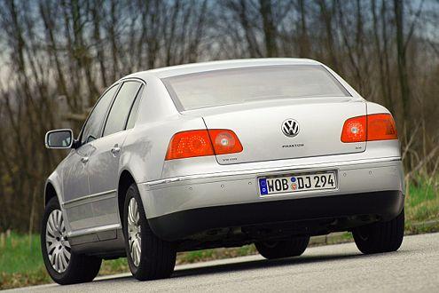 VW Phaeton: Im großen Wolfsburger zielt alles auf  Luxus und Komfort.