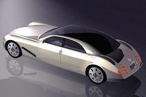 Ein V16-Motor mit 14 Litern Hubraum soll das Luxusteil antreiben.