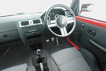 VW Citi-Golf Südafrika