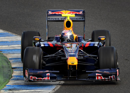 Formel-1-Saison 2010, Red Bull RB5