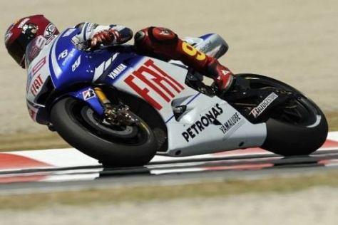 Das Yamaha-Werksteam ist für das Qualifying gut gerüstet.