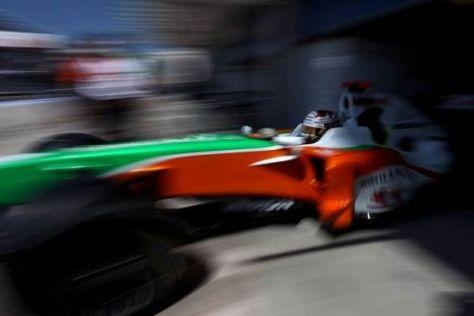 Adrian Sutil hofft in Silverstone auf weitere Fortschritte mit dem Force India