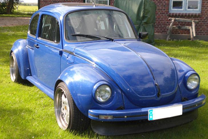 käfer 1303 mit porsche-motor - bilder - autobild.de