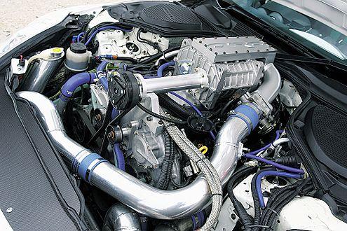 Druck von allen Seiten: Kompressor und Turbo machen Dampf.