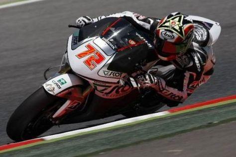 Yuki Takahashi ist in der aktuellen MotoGP-Saison als Rookie unterwegs