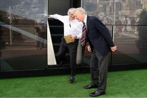 Die Wege der alten Freunde Bernie Ecclestone und Max Mosley trennen sich