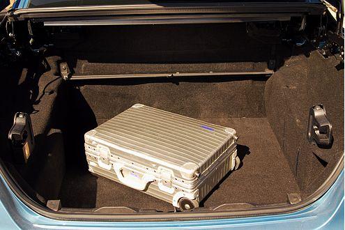 534 Liter Platz im Kofferraum: Das ist mehr als ordentlich!