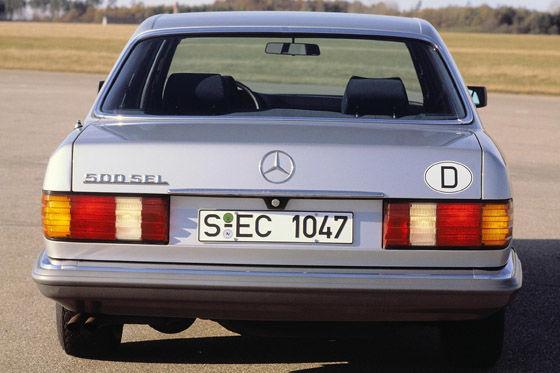 Mercedes S-Klasse (W 126)