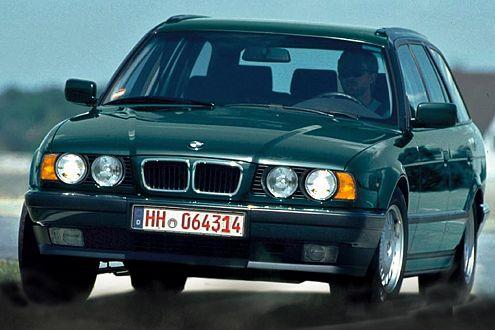 Vier Sterne: Wie die Konkurrenten bekommt der BMW ein gutes Zeugnis.