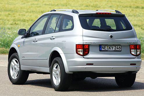 Herausgeputzter Oldie: Der Kyron ist wie ein Auto aus den 80ern gebaut.