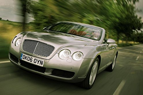 Ein Auto zum Verlieben: der Bentley Continental GTC.