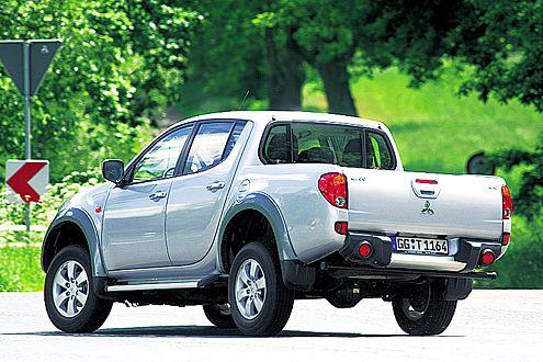 Sieht rundlicher aus und geht's auch viel gemütlicher an: der Mitsubishi L200.