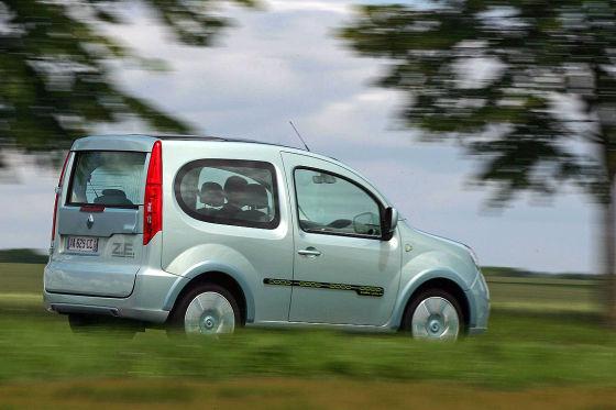 Renault Kangoo Be Bop Z.E. in Fahrt