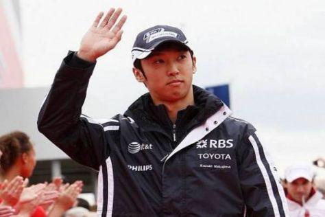 Kazuki Nakajima konnte sich in dieser Saison noch nicht oft in Szene setzen