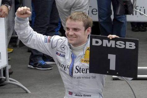 Jamie Green hat sein Können einmal mehr gezeigt und siegte am Norisring