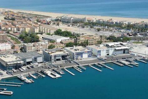 Die Strecke durch das Hafengebiet von Valencia hat nicht nur Jubel ausgelöst
