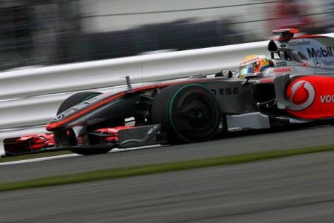 McLaren-Mercedes geht mit geringen Erwartungen an das Rennen in der Eifel