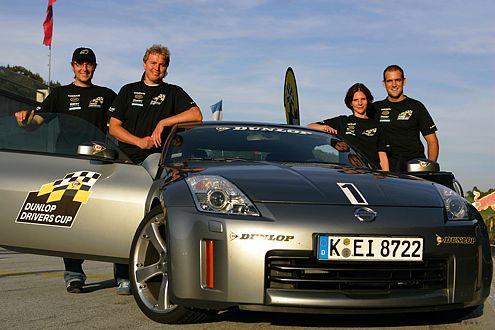 Gewinner: Daniel Tiesler, Carsten Reich, Nadine Huber und Markus Hinzen fahren nach Marokko.