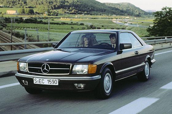 Mercedes C 126 SEC