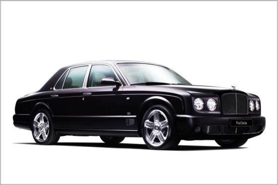 Vorgänger: Bentley Arnage Final Series
