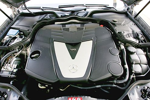 Erste Klasse: Der Mercedes-V6 ist das beste Aggregat im Vergleich.