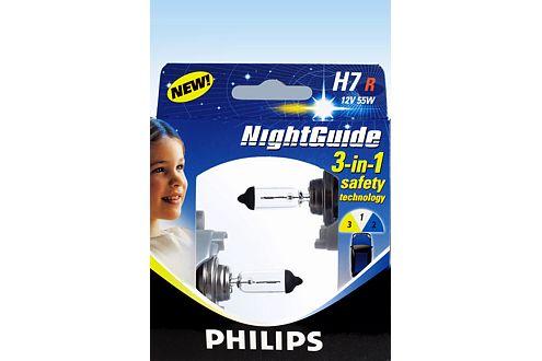 Die beste (und teuerste) Lampe im Test: die Philips NightGuide.