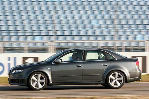 Endlich auch als Limousine: die jüngste Generation des Audi RS4