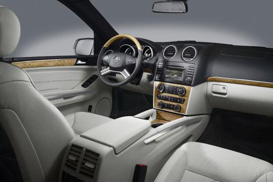 Mercedes GL 350 Bluetec Facelift 2009
